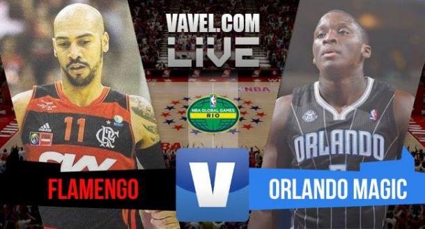 Resultado Flamengo 73x90 Orlando Magic no NBA Global Games 2015