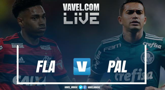 Resultado e gols Flamengo1x1 Palmeiras pelo Brasileirão 2018