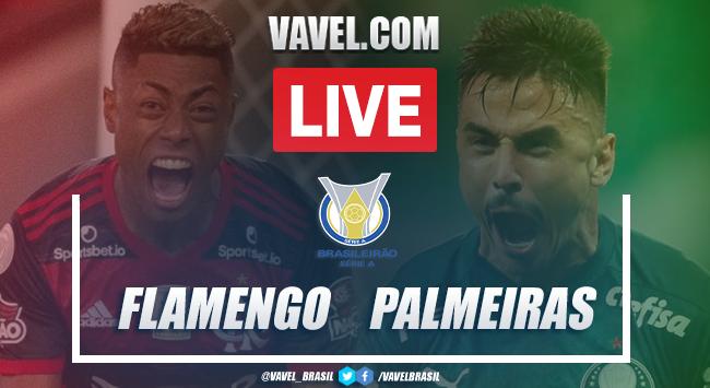 (Cunha) Gols e melhores momentos para Flamengo 2x0 Palmeiras pelo Campeonato Brasileiro
