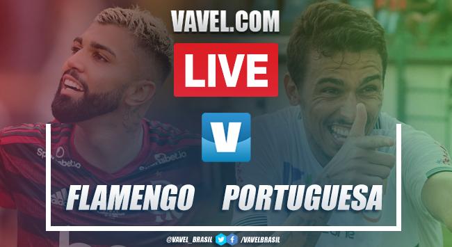 Gols e melhores momentos de Flamengo 2x1 Portuguesa-RJ pelo Campeonato Carioca 2020