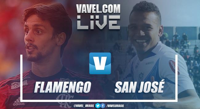 Resultado Flamengo 6x1 San José na Copa Libertadores 2019