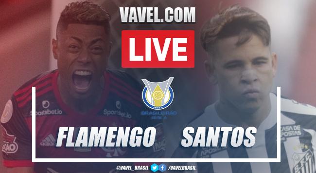 Gols e melhores momentos Flamengo 4 x 1 Santos pelo Campeonato Brasileiro 2020