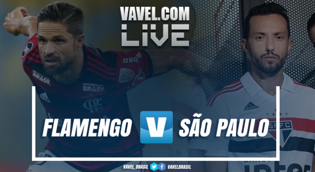 Resultado e gols de Flamengo x São Paulo pelo Campeonato Brasileiro 2018 (0-1)