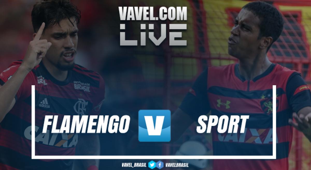 Resultado Flamengo 4 x 1 Sport no Campeonato Brasileiro 2018