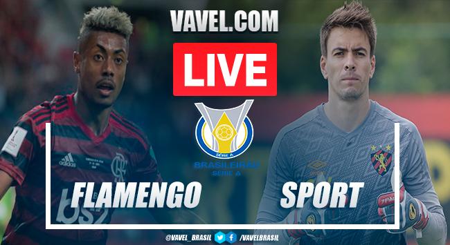 Gols e melhores momentos de Flamengo 3x0 Sport pelo Campeonato Brasileiro