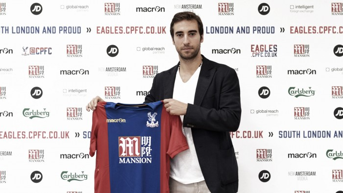 Crystal Palace sign Mathieu Flamini