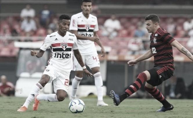 Resultado Flamengo x São Paulo pelo Campeonato Brasileiro (0-0)