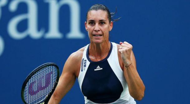 WTA Moscow: Pennetta Wins Second Round Matchup Against Gavrilova