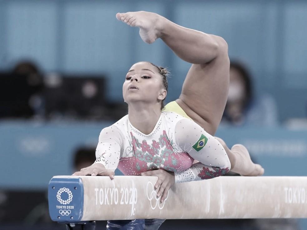 Flávia Saraiva fica fora do pódio em final da trave na ginástica artística; Biles é bronze