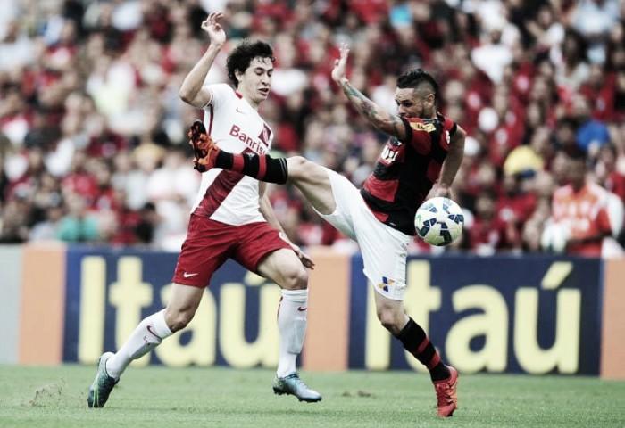 Resultado Internacional 2x1 Flamengo no Campeonato Brasileiro 2016