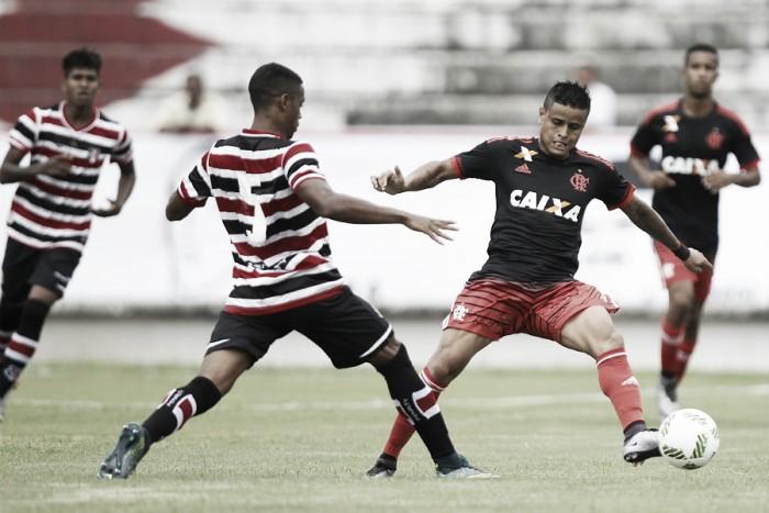 Resultado Flamengo x Santa Cruz no Brasileirão Série A 2016 (3-0)