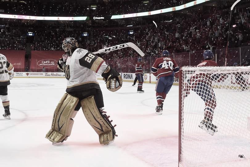 Montreal se apunta un partido prácticamente ganado por Vegas