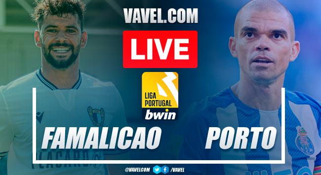 Goals and highlights: Famalicao 1-2 Porto in Primeira Liga Portugal