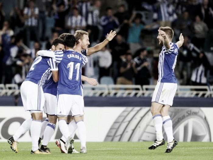 Com início avassalador, Real Sociedad estreia com goleada contra Rosenborg