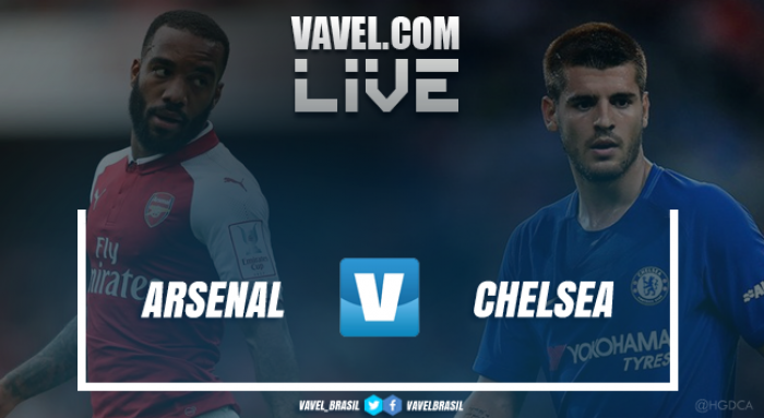 Resultado Arsenal x Chelsea na Supercopa da Inglaterra (1-1; 4-1 pen)