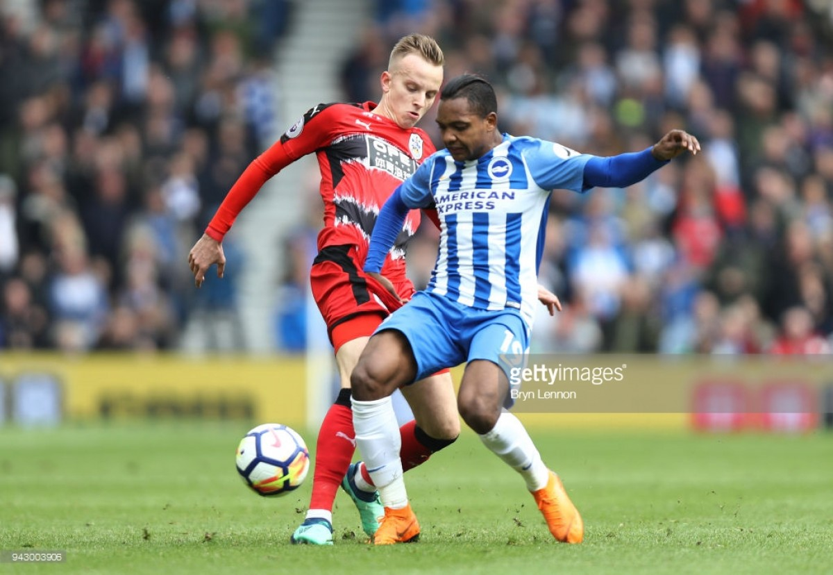 "Florent Hadergjonaj: Huddersfield's point against Brighton was ""deserved"""
