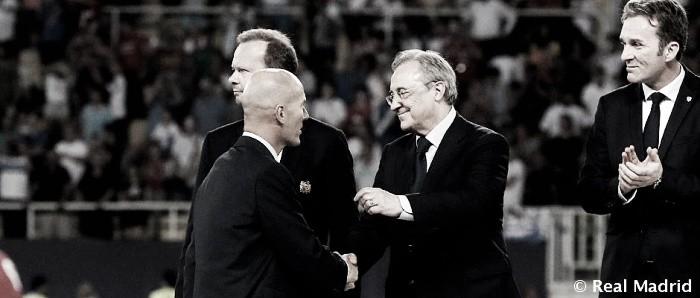 """Florentino Pérez: """"Somos dignos merecedores del torneo"""""""