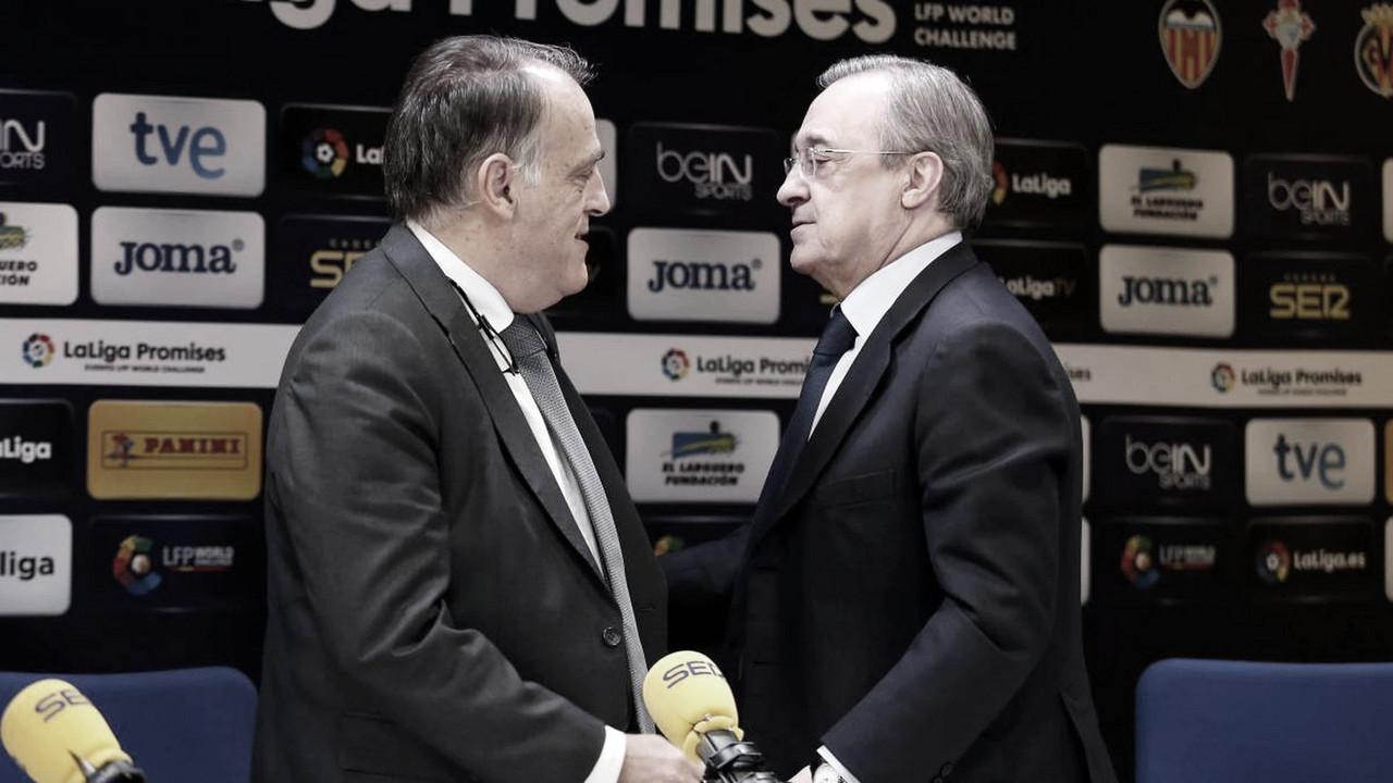 El Real Madrid denuncia a Javier Tebas y al Fondo CVC