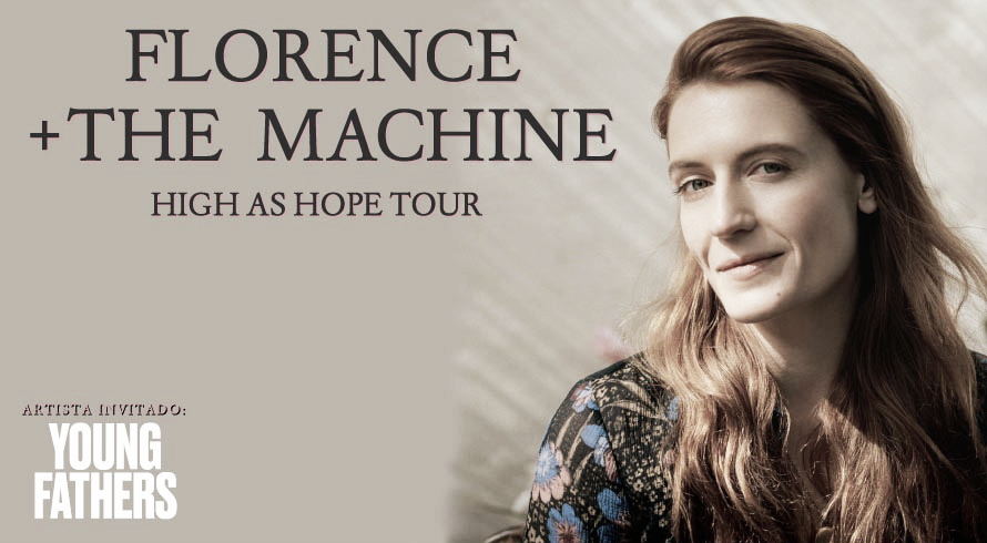 Florence and The Machine visitará Barcelona