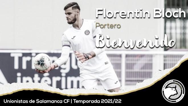 Florentin Bloch, del Toulouse a Unionistas de Salamanca
