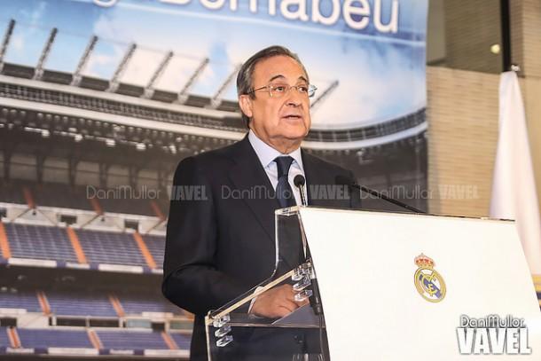 Florentino Pérez comparecerá ante los medios tras la Junta Directiva