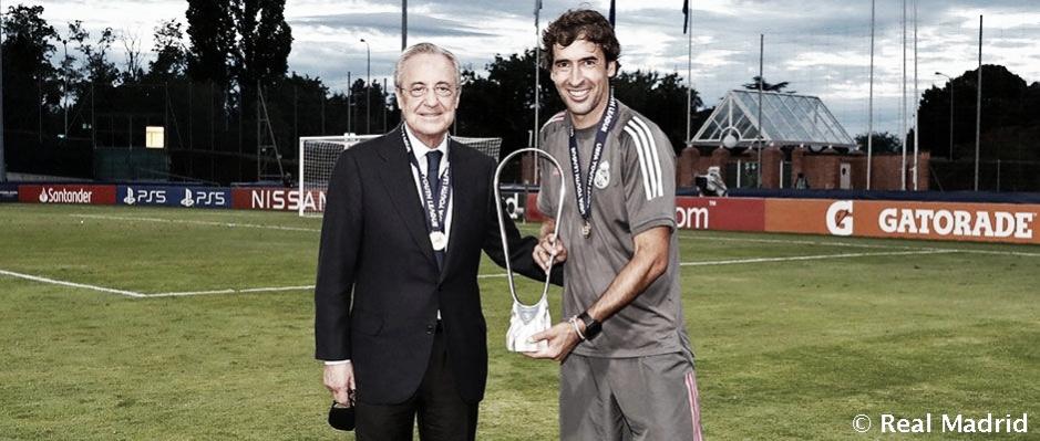 Florentino Pérez: «La UEFA Youth League nos anima a seguir poniendo énfasis en nuestra cantera»
