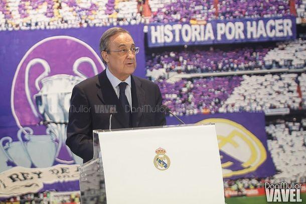 """Florentino Pérez garante permanência de Rafa Benítez no Real Madrid: """"Tem nossa confiança"""""""