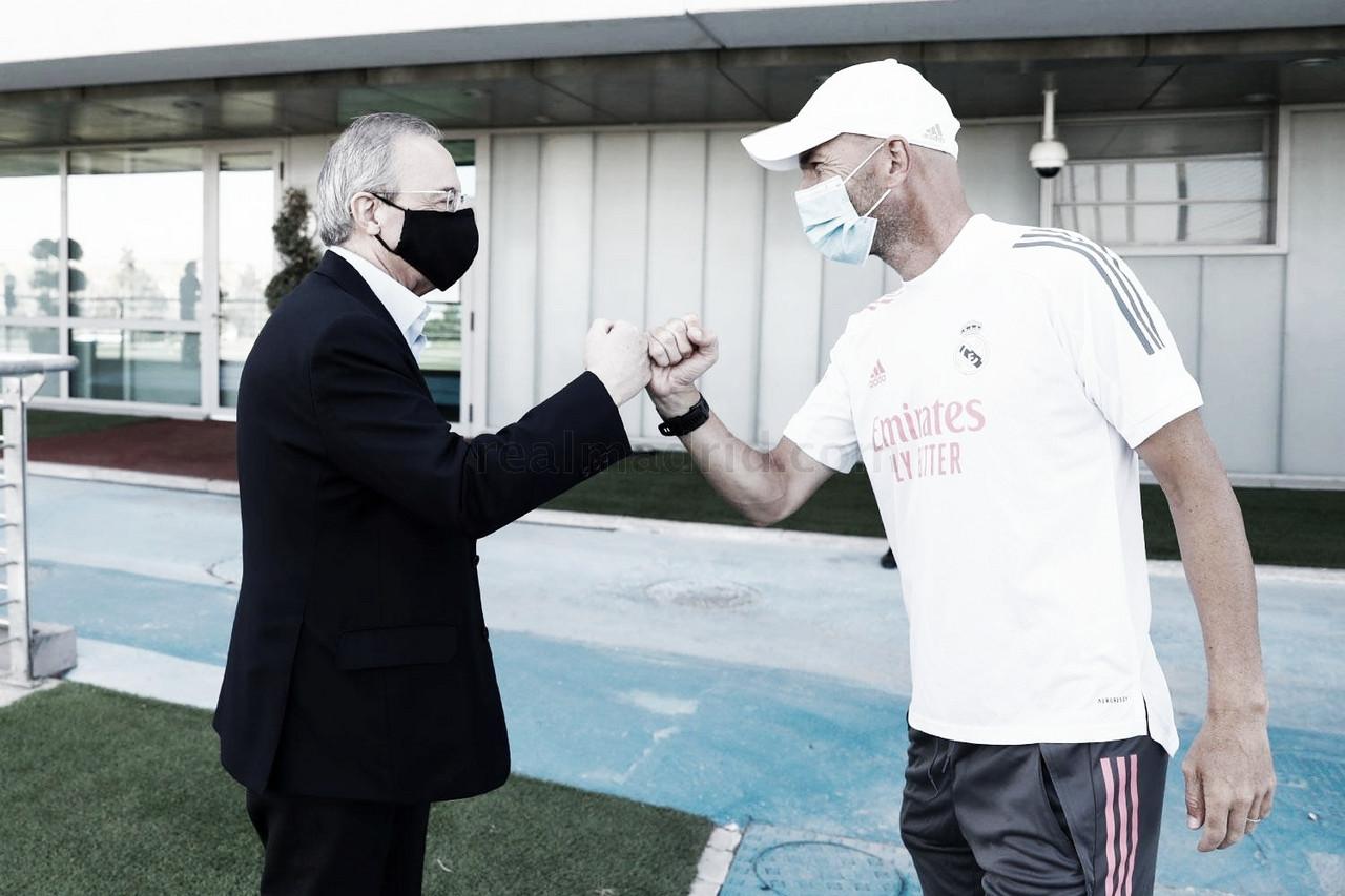 El Real Madrid se somete a dos test de COVID-19 en apenas tres días