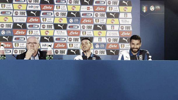 L'Italia fa rotta sulla Norvegia: Florenzi, Candreva e Tavecchio presentano la sfida