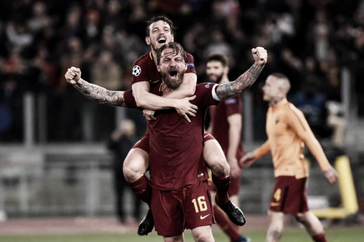 Opinião: a Roma passou pelo Barcelona e, se isso for um sonho, por favor não me acordem