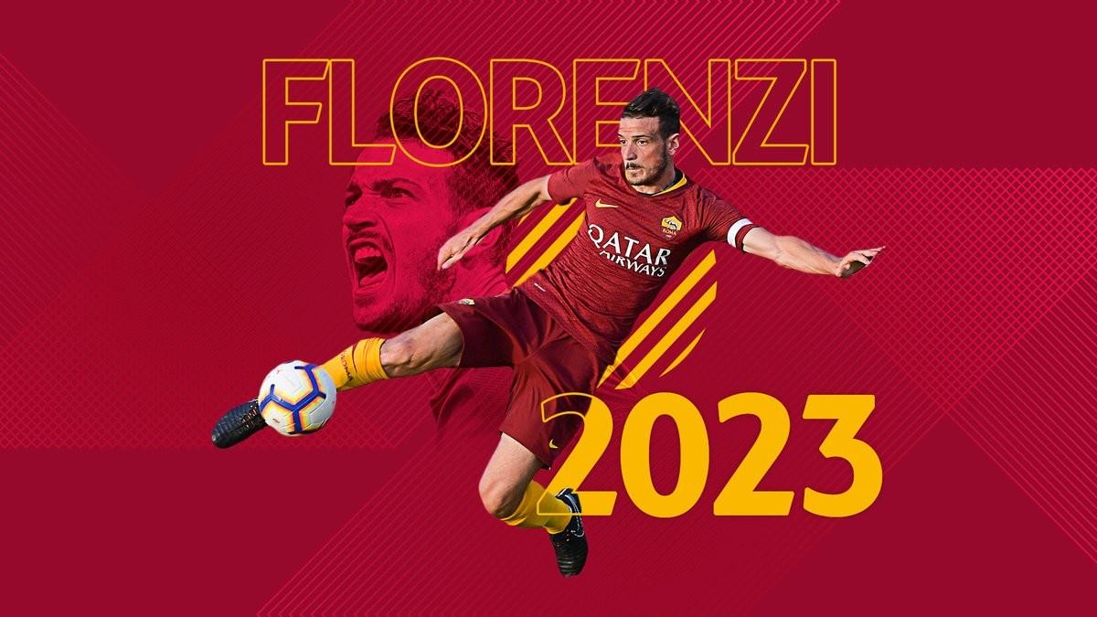 Roma, ufficiale il rinnovo di Florenzi