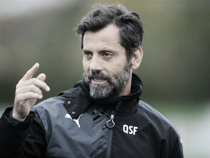 Flores speaks of positivity ahead of Arsenal tie