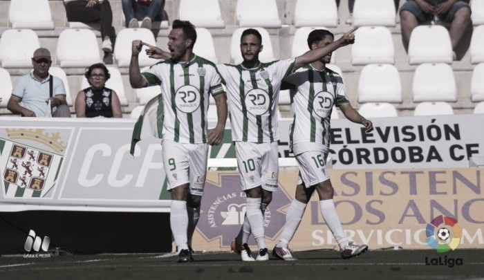 El Córdoba se vuelve a subir al tren del ascenso