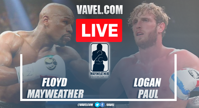 Summary and highlights of the exhibition fight between Floyd Mayweather and Logan Paul Box 2021