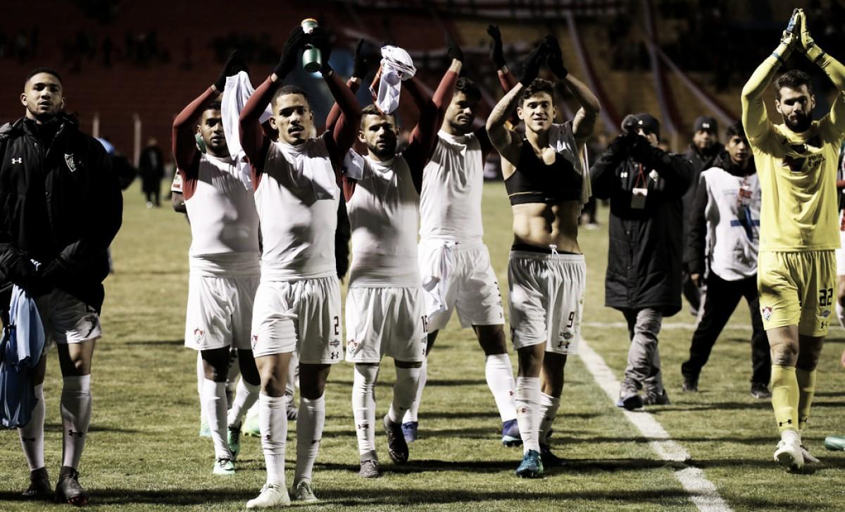 Fluminense perde para Nacional Potosí, mas resiste à pressão e avança na Copa Sul-Americana