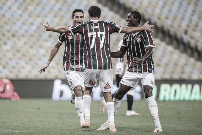 Fluminense domina Corinthians no Maracanã e volta a vencer no Brasileirão