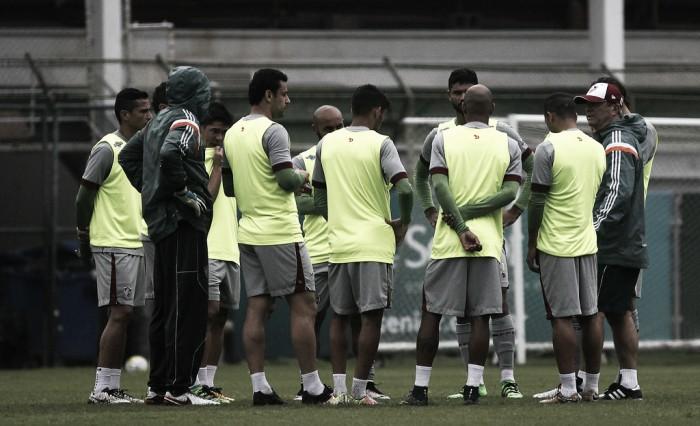 Maranhão faz primeiro treino no Flu e Levir promove mudanças para jogo contra o Palmeiras