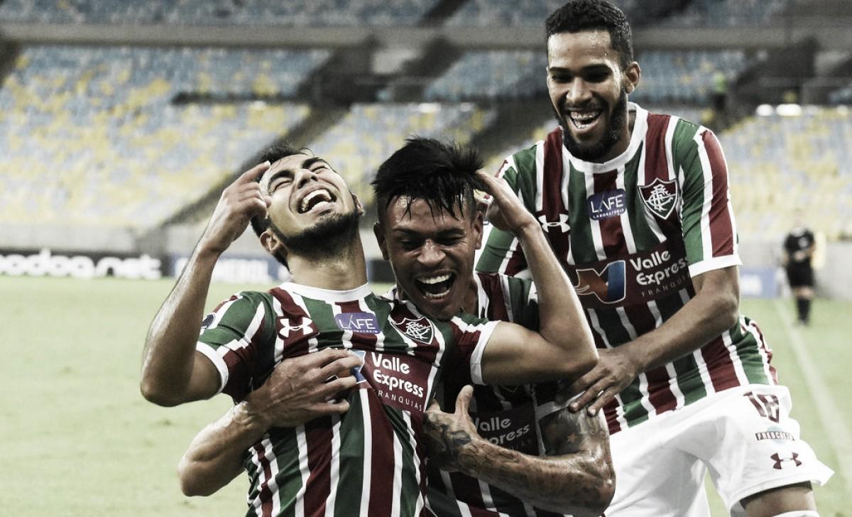 Com gol olímpico de Sornoza, Fluminense vence Defensor pela Sul-Americana