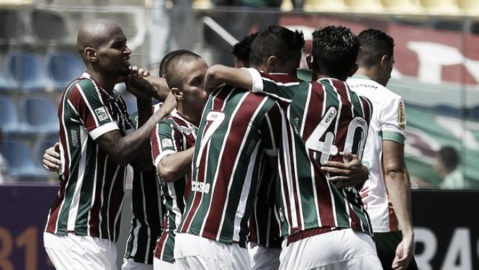 Henrique Dourado desencanta e Fluminense bate América-MG em Cariacica