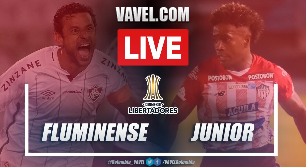 Resumen Fluminense vs Junior (1-2) en la fecha 5 del grupo D por Copa Libertadores 2021