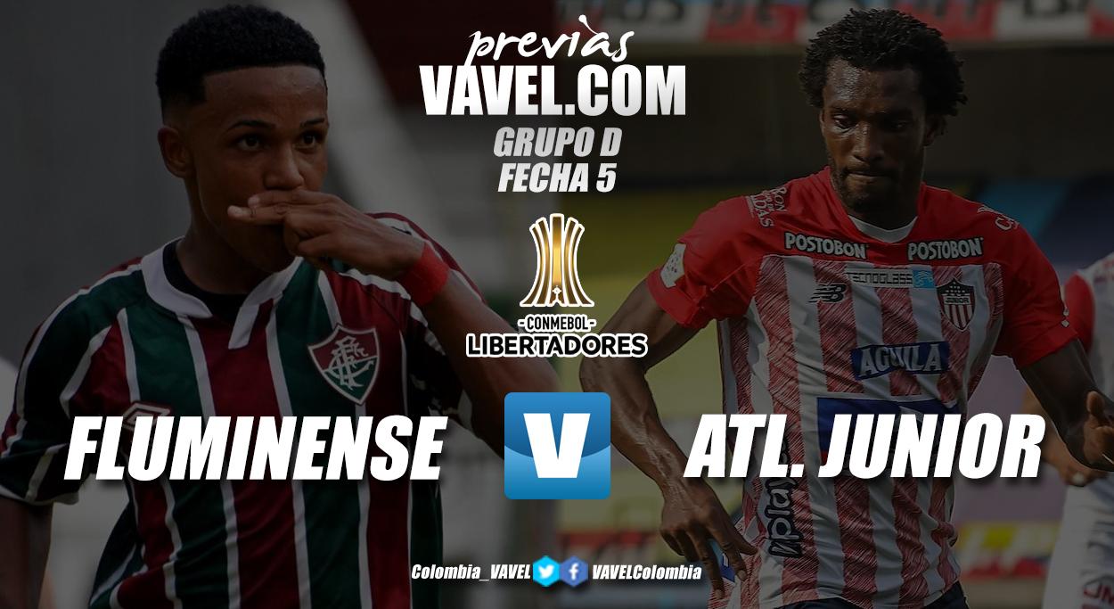 Previa Fluminensevs Junior de Barranquilla: no hay mañana para el 'tiburón'