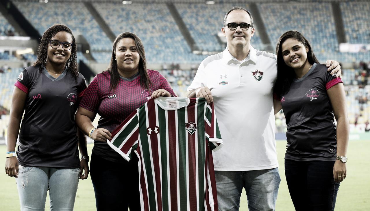 Fluminense confirma parceria e terá time feminino de futebol