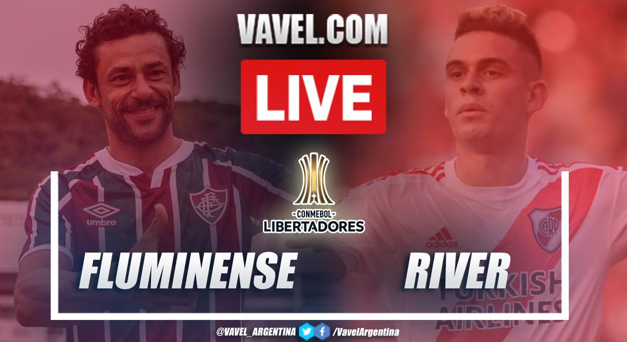 Resumen Fluminense vs River (1-1) en la fecha 1 del grupo D por Copa Libertadores 2021