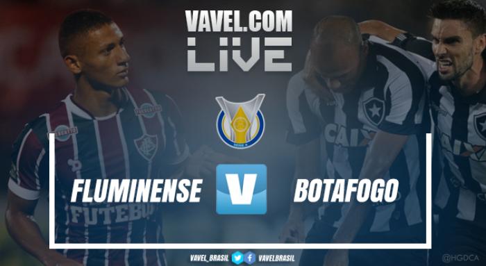Resultado Fluminense x Botafogo no Campeonato Brasileiro (0-1)