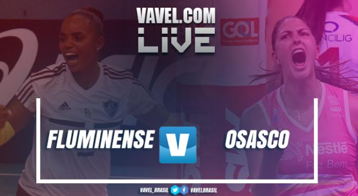 Jogo 2: Resultado Fluminense x Osasco nos playoffs da Superliga Feminina de Vôlei (0-3)