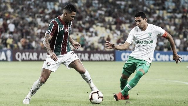 Atlético Nacional e Fluminense se enfrentam em busca da classificação na Sul-Americana