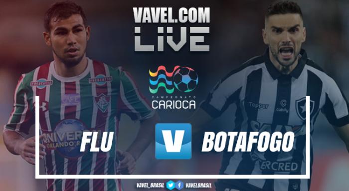 Resultado Fluminense x Botafogo no Campeonato Carioca 2018 (0-0)