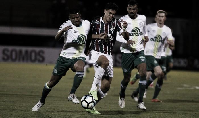 Jogo Chapecoense x Fluminense AO VIVO no Brasileirão 2017 (0-0)