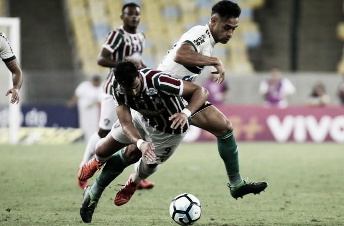 Com gols de bola aérea, Fluminense e Coritiba empatam no Maracanã