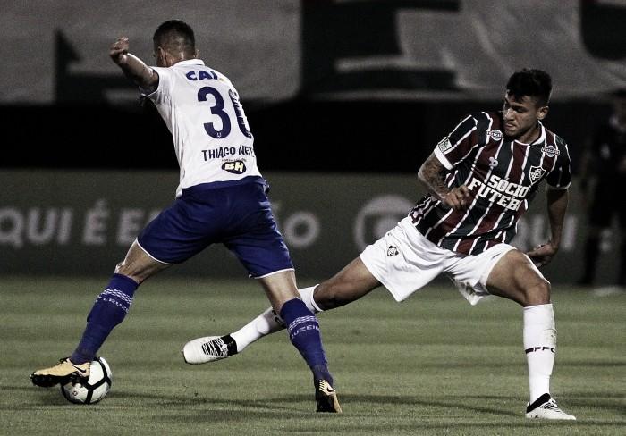 Em casa, Fluminense apenas empata com Cruzeiro e vê G-6 mais distante